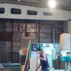 Демонтаж стены из газоблока