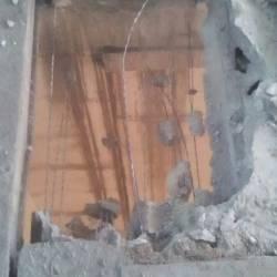 Резка бетонного перекрытия