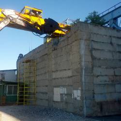 Разбивка бетонного колодца_1