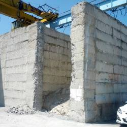 Разбивка бетонного колодца_7