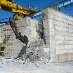 Разбивка бетонного колодца_3