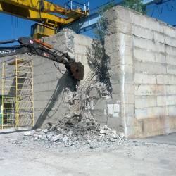 Разбивка бетонного колодца_4