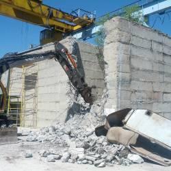Разбивка бетонного колодца_5