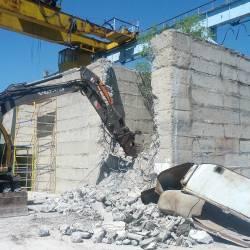 Разбивка бетонного колодца_6
